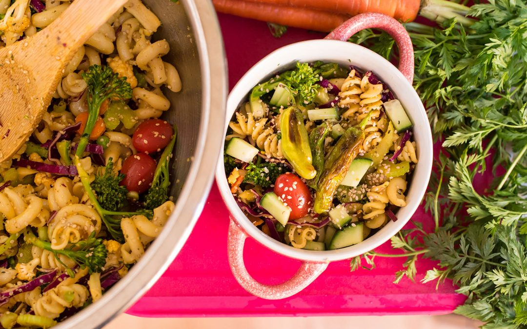 Veggie-Packed Pasta Salad