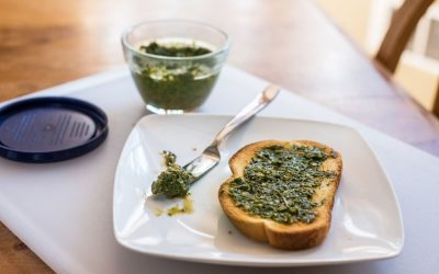 Carrot Greens Pesto