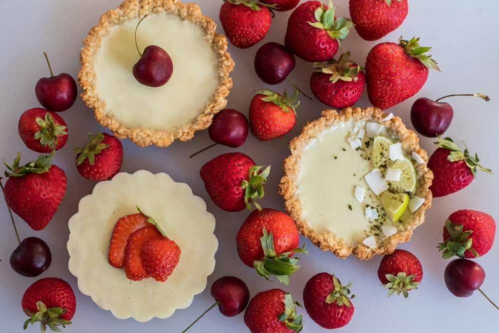 Lime Coconut Tartlet with Ginger Crust | Rainbowl Foods