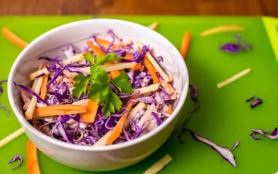 Apple Carrot Cabbage Slaw