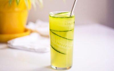 Cucumber Pear Soda