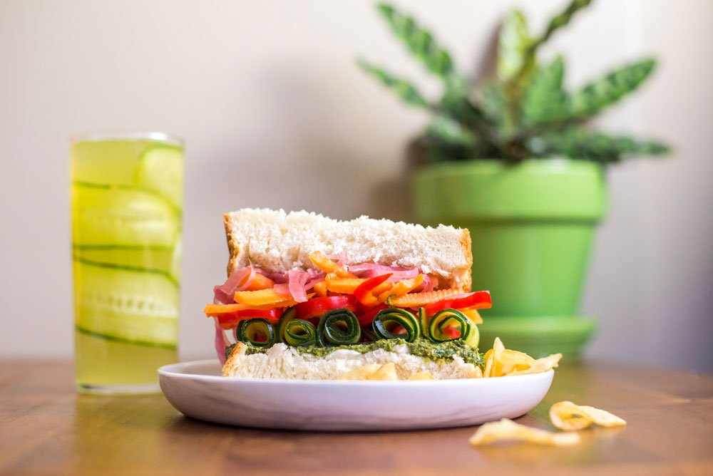 Cucumber Pear Soda | Rainbowl Foods
