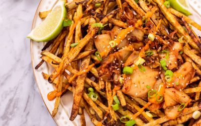 Spicy Kimchi Fries