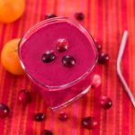 Orange Beet Cranberry Smoothie | Rainbowl Foods
