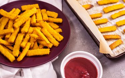 Turmeric Polenta Fries