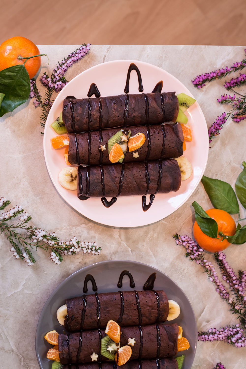 Vegan Chocolate Crepes | Rainbowl Foods