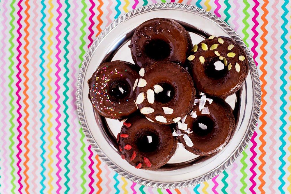 Vegan Chocolate Zucchini Donuts | Rainbowl Foods