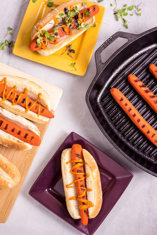 Vegan Carrot Dogs | Rainbowl Foods