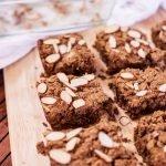 Almond Butter Blondies | Rainbowl Foods