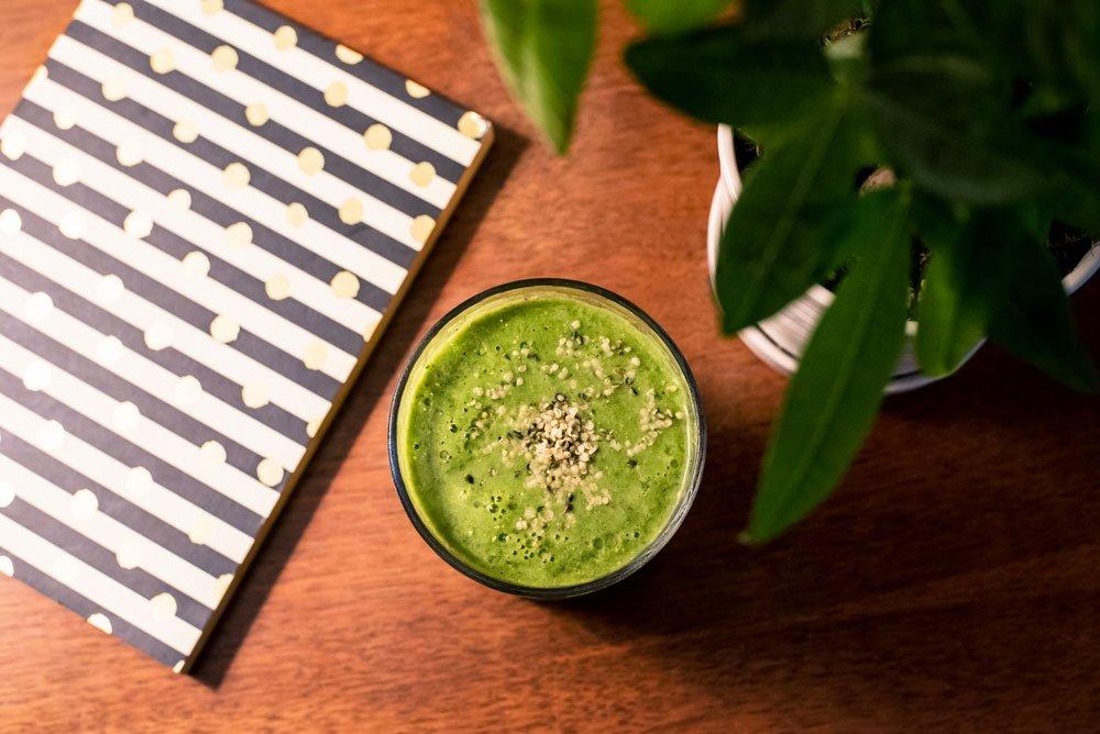 Healing Greens Smoothie | Rainbowl Foods