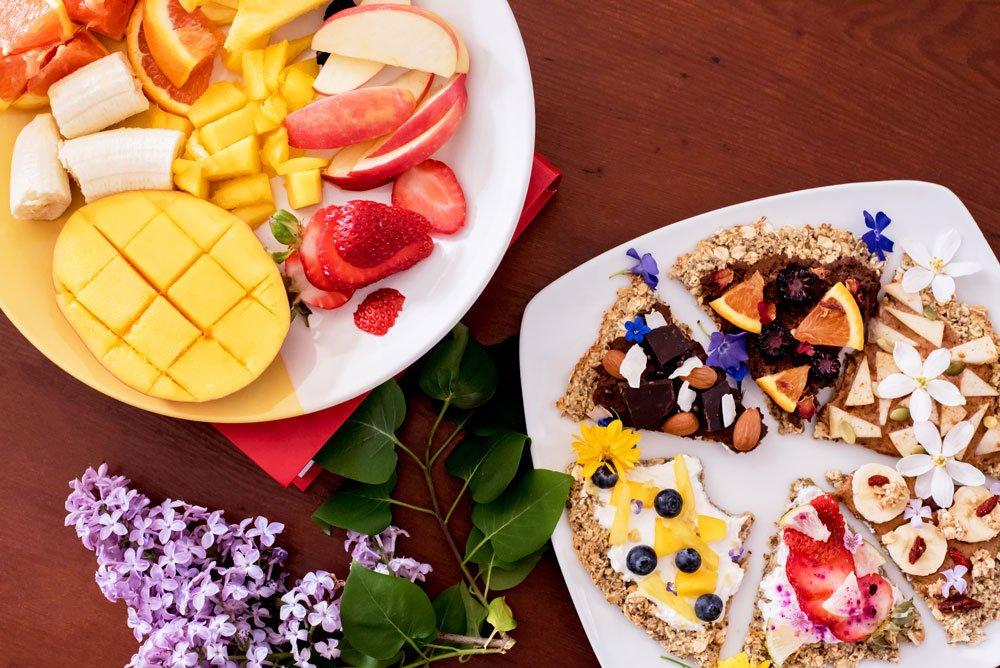 Four Seed Breakfast Pizza Recipe | Rainbowl Foods