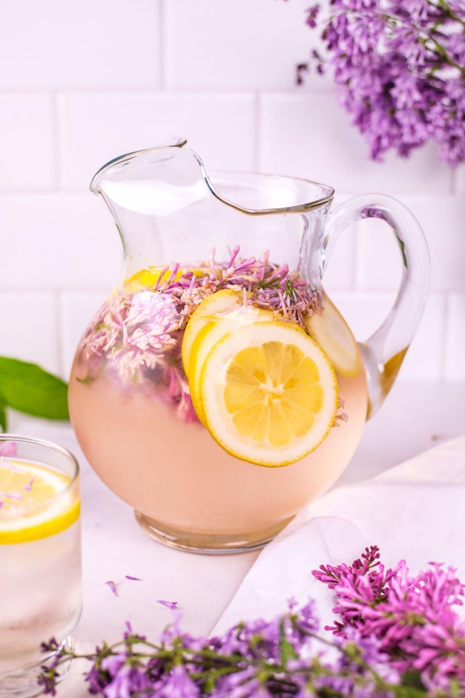 Lilac Lemon Water | Rainbowl Foods