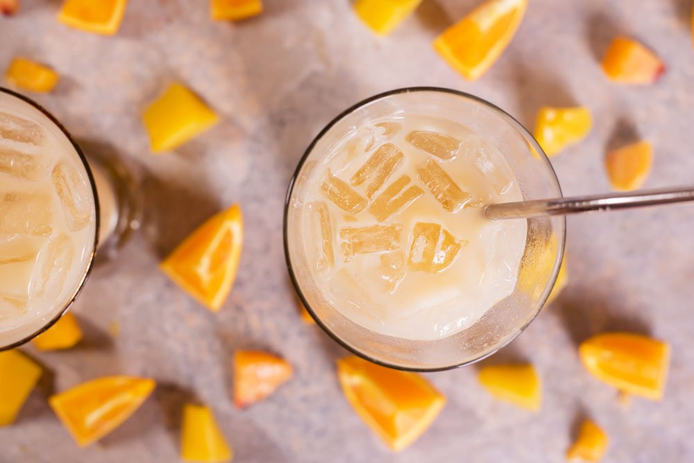 Mango Orange Peach Cream Soda