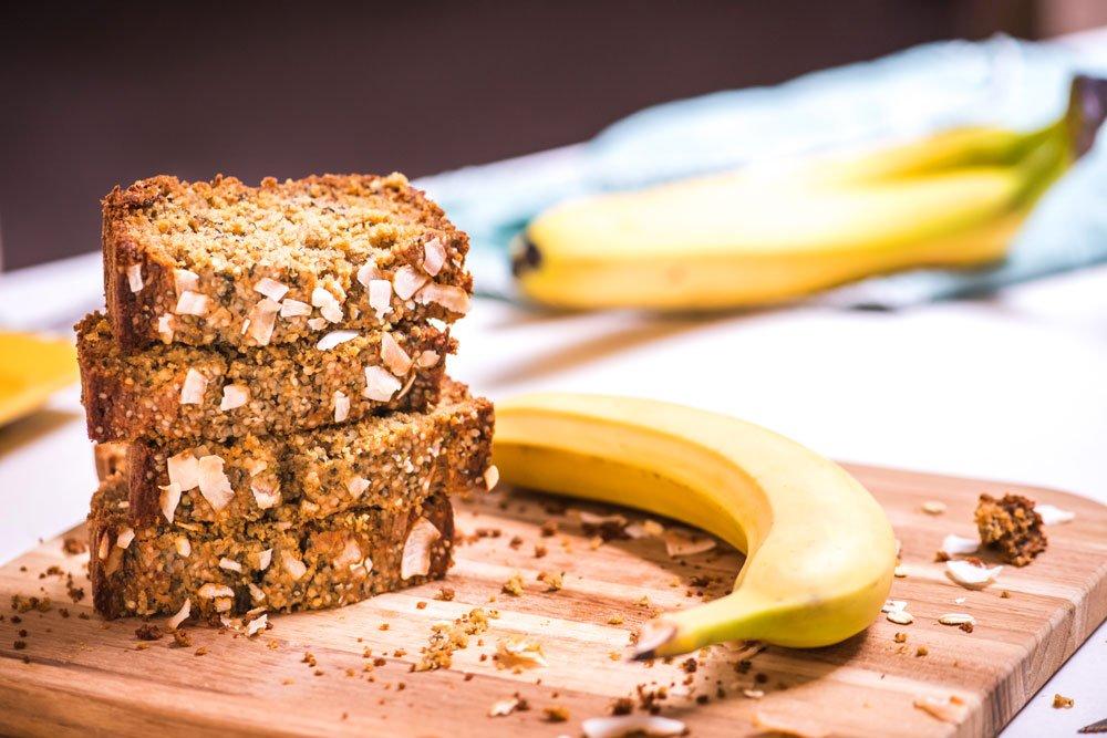 Oat Flour Banana Bread | Vegan and Gluten-Free | Rainbowl Foods