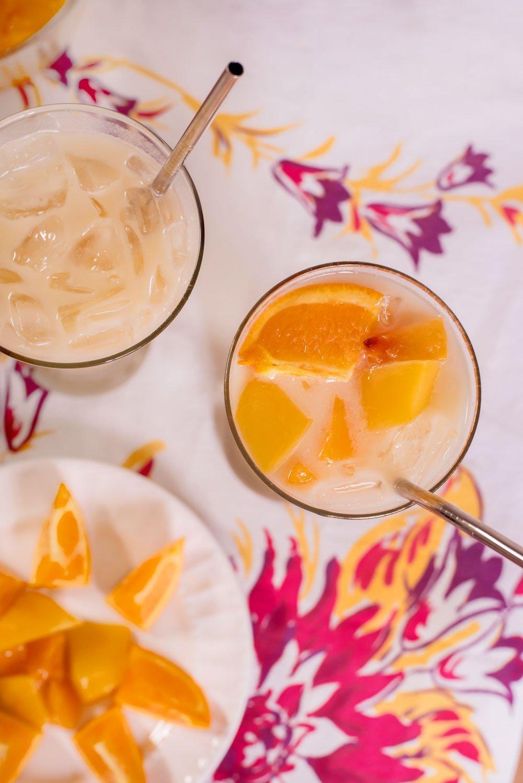 Mango Orange Peach Cream Soda | Rainbowl Foods