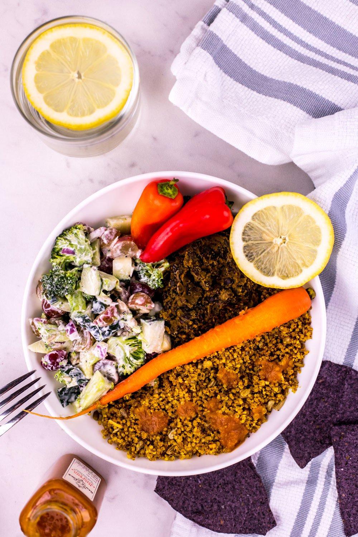 Taco Seasoned Quinoa Vegan Recipe | Rainbowl Foods