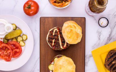 BBQ Veggie Burgers
