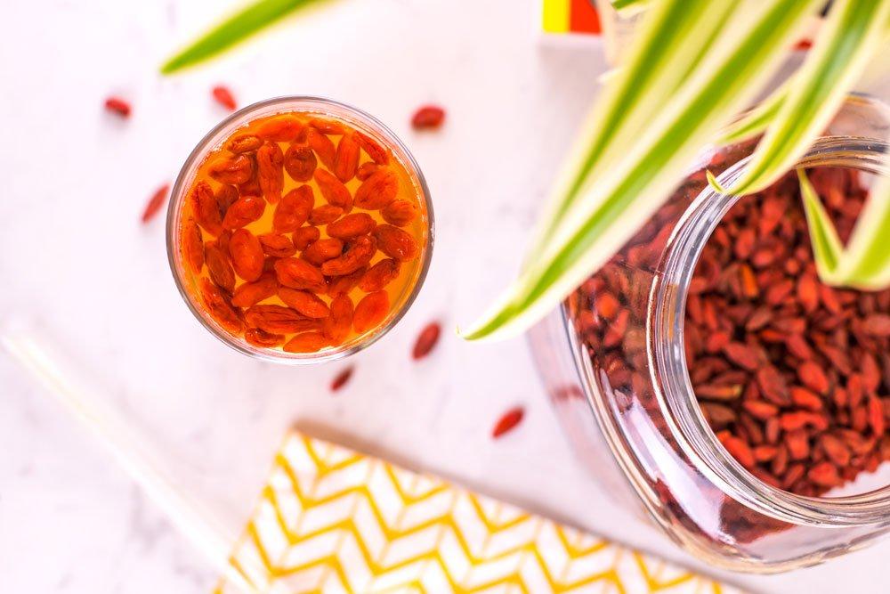 Goji Berry Water | Rainbowl Foods