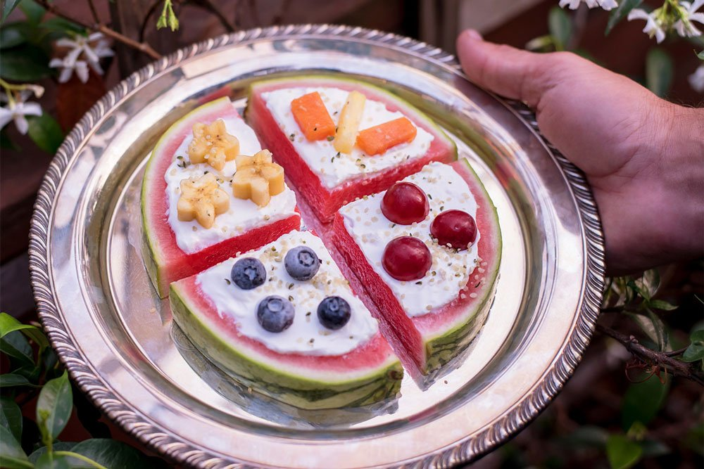 Watermelon Pizza | Fun + Fruity Snacks for All Ages | Rainbowl Foods