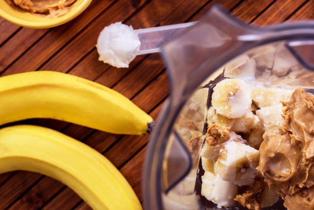 PBJ Coffee Smoothie Bowl | Rainbowl Foods