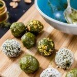 Matcha Green Tea Energy Bites | Rainbowl Foods