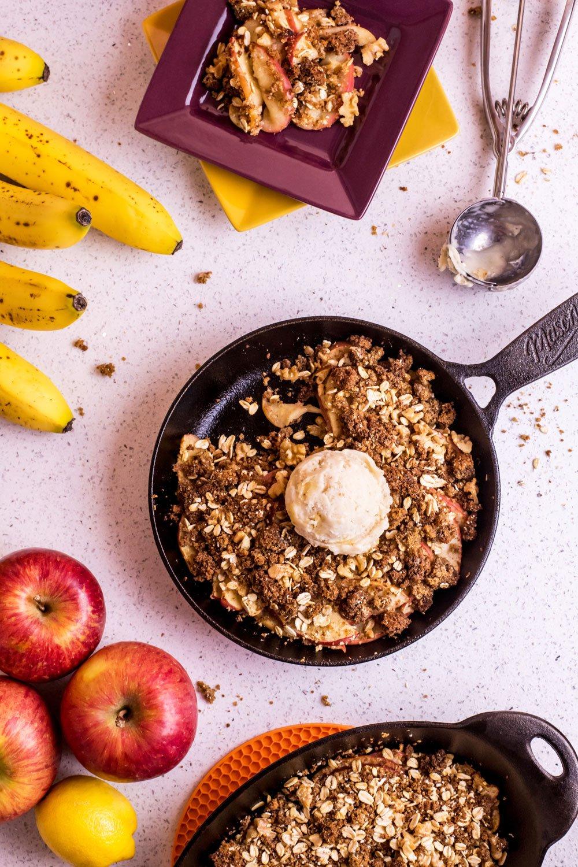 Banana Bread Apple Crisp | Rainbowl Foods