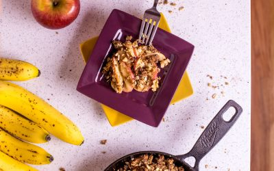 Banana Bread Apple Crisp